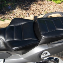 BMW K1200GT: Solo Leather Saddle | Rectangles