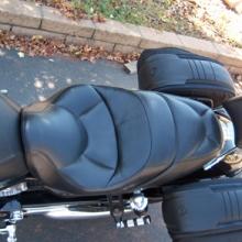 Harley_Davidson V-Rod: Solo Leather Saddle