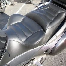 Honda NT700V: Day-Long Solo | RCP Driver Backrest | Graphite Half Moon Pattern