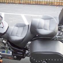 Honda VTX 1800: Dual Black Rectangles
