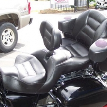 Honda Valkyrie Interstate: Dual with RCP Drivers Backrest