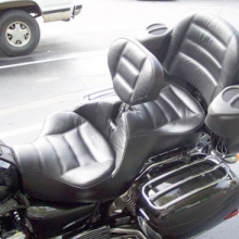 Honda Valkyrie Interstate: Dual All Leather