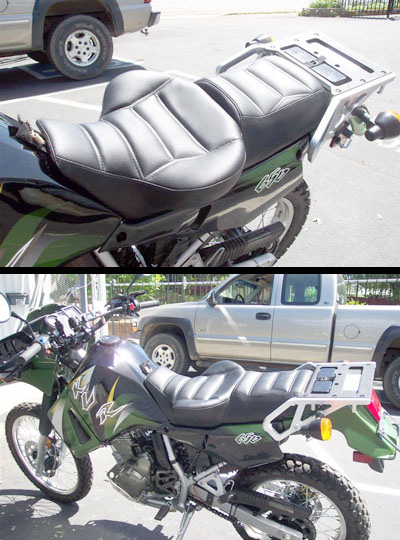 Russell Day Long Seat For Kawasaki Concours