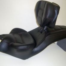 Kawasaki Versys Seat: Versys Seat with RCP Backrest