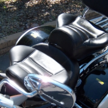 Kawasaki Vulcan: Dual Leather Saddle