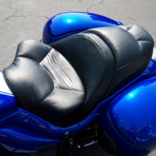 Suzuki Boulevard: Solo Alligator Leather