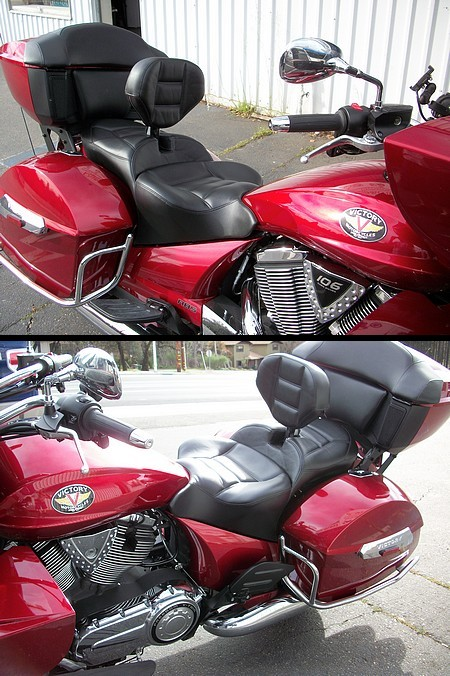 Custom Harley Davidson >> Custom Victory Seat   Gallery   Russell Cycle Products