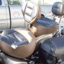 Yamaha Road Star: Dual Two Tone With Our RCP Backrest