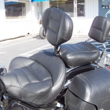 Yamaha Road Star: Solo All Leather With Our Drivers Backrest