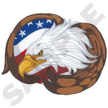 Eagle W/ Flag